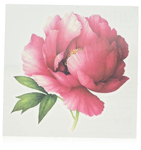 Tattly - Tatuajes temporales, aroma a peonía, color rosa