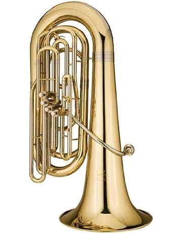 Ravel 4-valve Student Tuba w/ Wheeled Poly Case