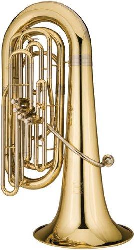 Ravel 4-valve Student Tuba w/ Wheeled Poly Case by Ravel