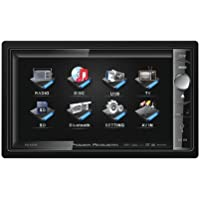 Power Acoustik Pd650b 6.5 Double Din Receiver Lcd Dvd Am/fm Bluetooth