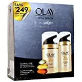 Olay Total Effects 7 in One Anti-Ageing Cream Day SPF 15 50g + Olay Total Effects 7 in One Anti-Ageing Night firming Cream 20g (Save 249/-)
