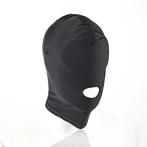 hood with eye and mouth holes - 3