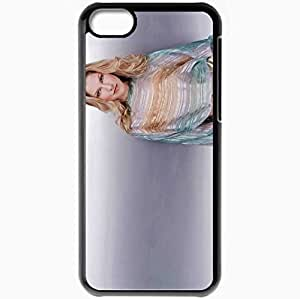 Personalized iPhone 5C Cell phone Case/Cover Skin Ali Larter Black