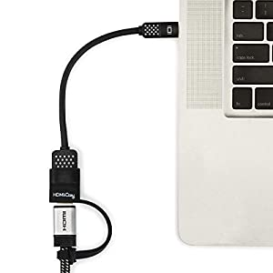 HDMICozy Holder for Belkin Mini Display port/Thunderbolt to HDMI Adapter, Never Lose Adapter Again, No Adapter Included by Cozy