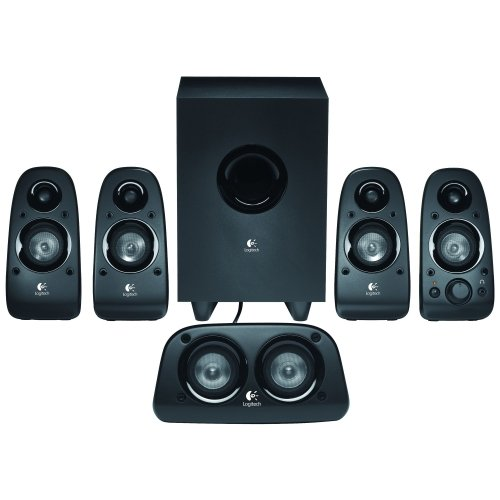 Logitech Z506 5.1 Speaker System . 75 W Rms . 45 Hz . 20 Khz