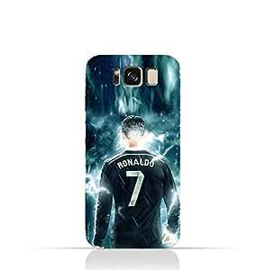Samsung Galaxy S8 Plus TPU Silicone Protective Case with Ronaldo Design