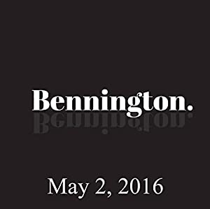 Bennington, Tom Rhodes, May 2, 2016 Radio/TV Program