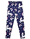 Rainbow Unicorn Leggings Girls Stretchy Pants