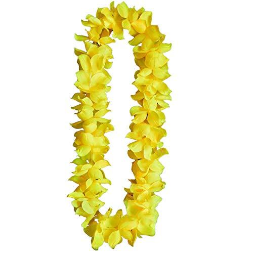 The Electric Mammoth LED Light Up Hawaiian Flower Leis (Yellow)