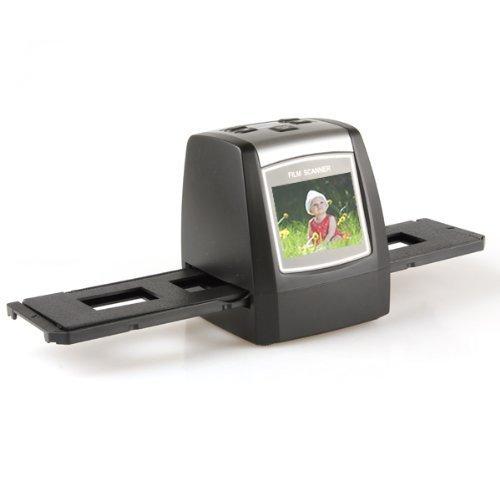 Scanner for 35mm Film and Slides - Convert Film Negatives and Photo Slides to Digital JPG Files