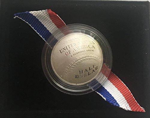 2014 S Baseball Hall Of Fame Half Dollar Proof US Mint