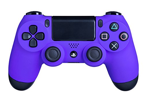 - DualShock 4 Wireless Controller for PlayStation 4 - Soft Touch Purple PS4 - Added Grip for Long Gaming Sessions - Multiple Colors Available