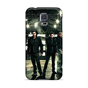 Bumper Hard Phone Cover For Samsung Galaxy S5 With Customized Nice Breaking Benjamin Series RudyPugh
