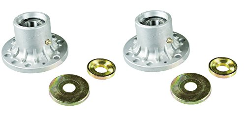 2 Spindle Housing Assemblies with Bearings for: EXMARK 103-8280, 1-634619, 1-323532, 103-2533, 103-2548, 103-2547; Toro 103-2533, 1-323532, 1-634619, 103-7975, 107-4065