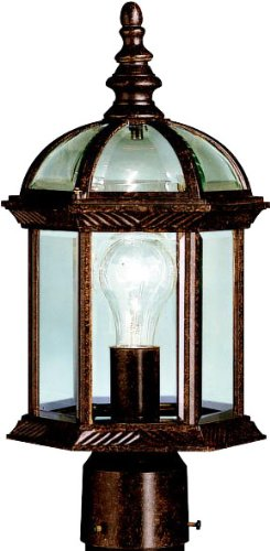 (Kichler  9935TZ One Light Outdoor Post)