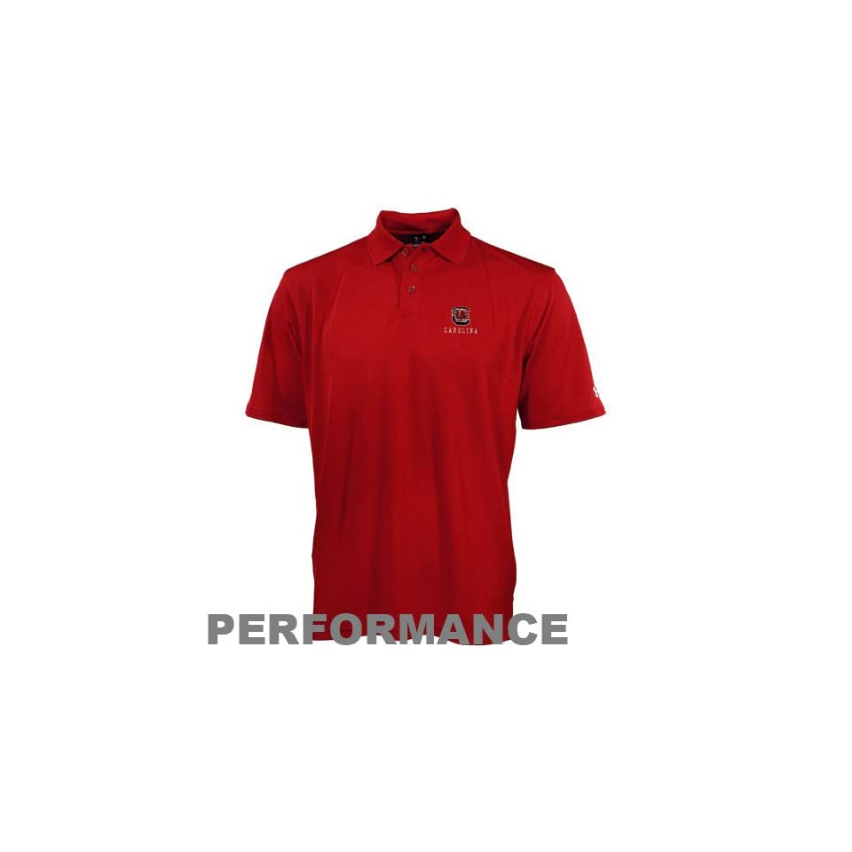 Under Armour South Carolina Gamecocks Garnet Performance Polo