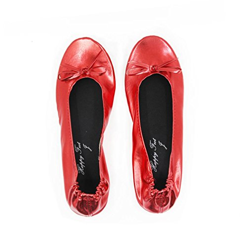 Happy FeetHfp01 Ballet Red donna FeetHfp01 Happy Z0qn11aw