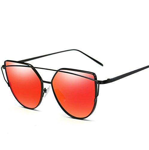 Fashion Jelly 1 de Femmes Eye YANJING pour Soleil Soleil Couleurs Femmes Colorées Cat ZYXCC Lunettes Multiples Sunglasses Sunglasses de pour Lunettes Metal vwxqa1ZxA