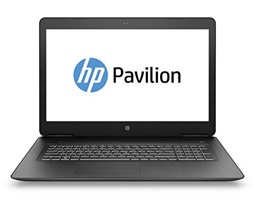 HP Pavilion Notebook 17-ab306ng 439 cm (17,3 Zoll Full HD IPS) Notebook (Intel Core i5-7300HQ 8GB RAM 1TB HDD 128GB SSD Nvidia GeForce GTX 1050 Ti 4GB DVD-RW Windows 10 Home) schwarz