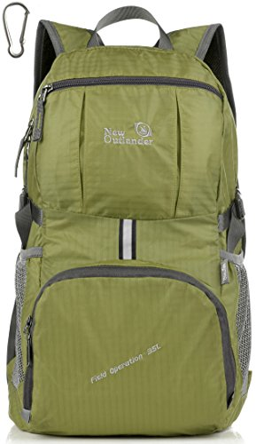 Outlander Packable Lightweight Travel Hiking Backpack Daypack (New (Rei Daypack)