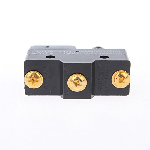 10pcs Roller Hinge Lever 1NO 1NC Actuator Micro Limit Switch LXW5-11G2