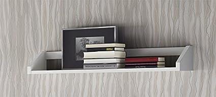 Venta-Muebles - Estantería pared blanca mod. madrid: Amazon ...