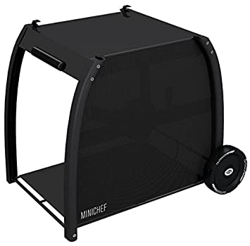 Outdoorchef Barbacoa/Grill, Mini Chef Station, Negro, 68,9 x 55