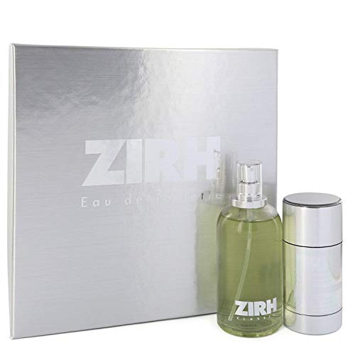 Zïrh Cologné by Zïrh Intérnatïonal Gift Set - 4.2 oz Eau De Toilette Spray + 2.6 oz Deodorant Stick