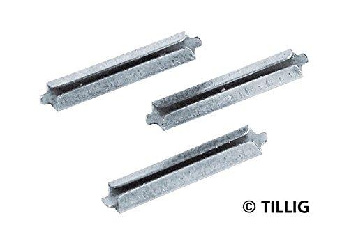 Tillig 86102 - Schienenverbinder Neusilber HO/TT (25 St./Btl.)