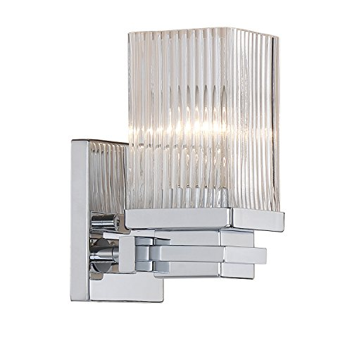Millennium Lighting Millennium:One 341-CH 1-Light Bath Vanity in Chrome