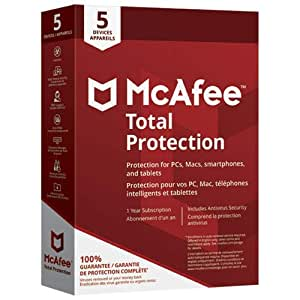 MCAFEE TOTAL PROTECTION 2018 - 5 USERS