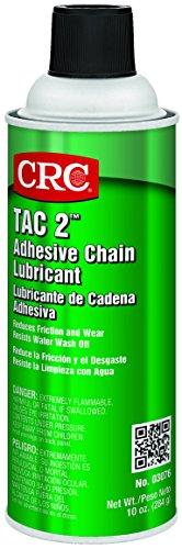 - CRC TAC 2 Adhesive Chain Lubricant, 10 oz Aerosol Can, Blue