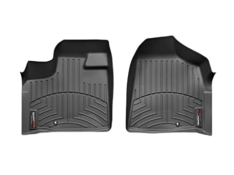 WeatherTech Front FloorLiner for Select Dodge/Chrysler/Volkswagen Models (Black) - Country Van Carpet