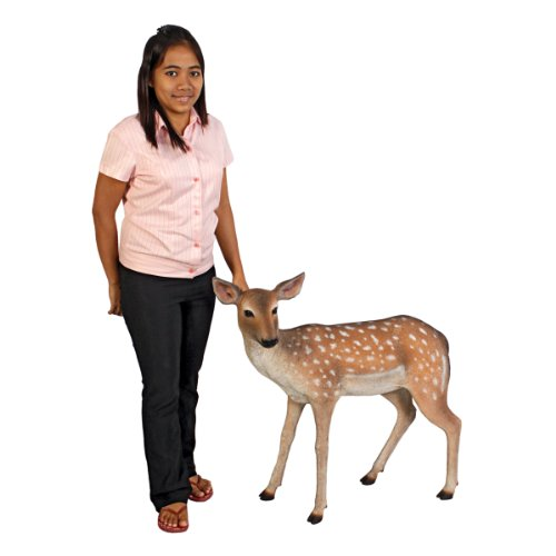 Design Toscano Spotted Deer Forest Fawn Sculpture