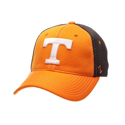 NCAA Tennessee Volunteers Men's Rally Z-Fit Cap, X-Large, Light Orange/Grey ()