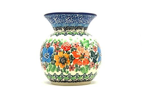 (Polish Pottery Bubble Vase - Unikat Signature - U3347)