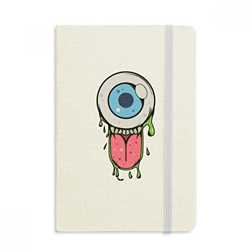 Universe And Alien Halloween Monster Classic Notebooks Fabric Hard Cover Office Work (Monsters Halloween List)