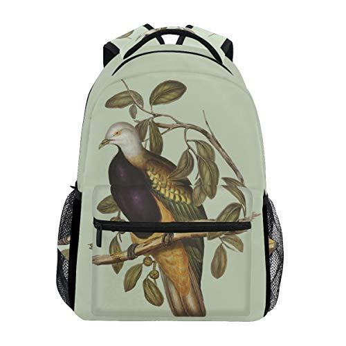 Partridge Bird Print Backpack School Bookbag Travel Shoulder Laptop Bag for Womens Mens (Partridge Bag Shopping Family)