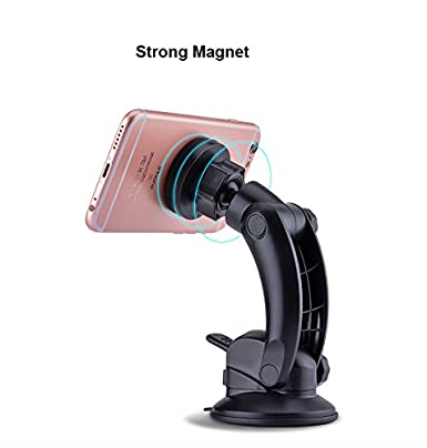 car Cradle vodool Universal Car Phone Holder Adjustable Dashboard Phone Mount for Safe Driving for iPhone 8 // 8Plus // X Magnetic Phone Car Mount Samsung Galaxy S8 // Note 8 and Other Devices 4351528937