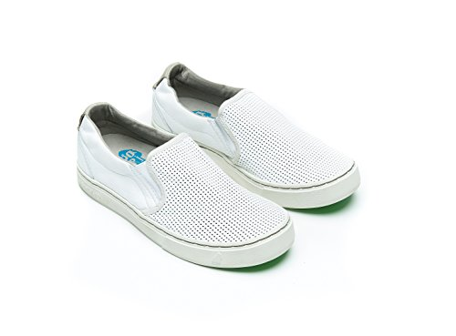 Satorisan Soumei Donna Napa Satorisan Pelle Punch Sneakers Donna bianco Nero r6qrnwBS