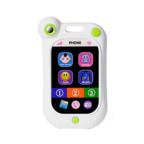 (Children's Simulator Music Toy Multi-Function Baby Mobile Phone Puzzle Early Education Toy Learning Gift)