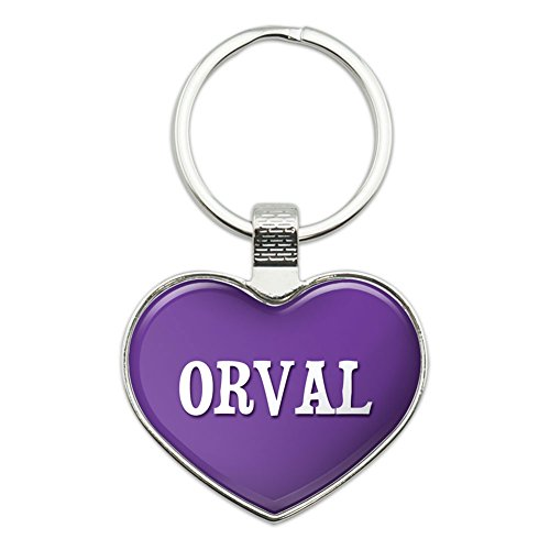 graphics-and-more-metal-keychain-key-chain-ring-purple-i-love-heart-names-male-o-orval