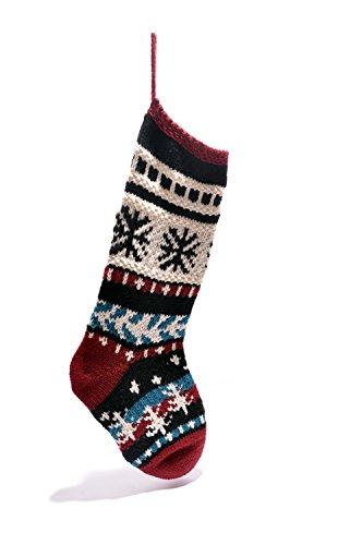 Snowflake Christmas Stocking by ChunkiChilli