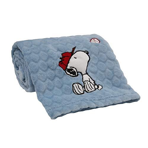 Bedtime Originals Snoopy Sports Blanket (Snoopy Baby Stuff)