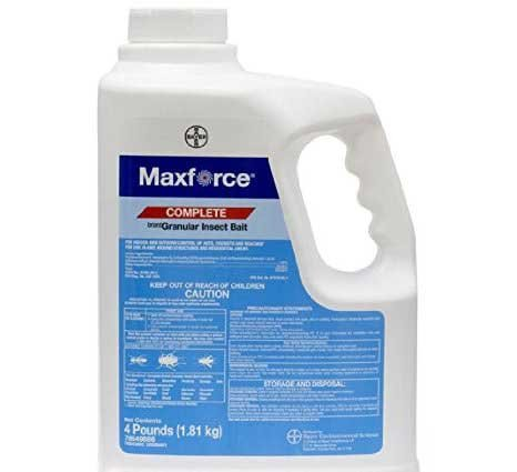 Maxforce Complete Insect Bait (4 Lbs) Ant Roach Cricket Silverfish Killer Bait Not For Sale To: (Maxforce Ant Killer Bait)
