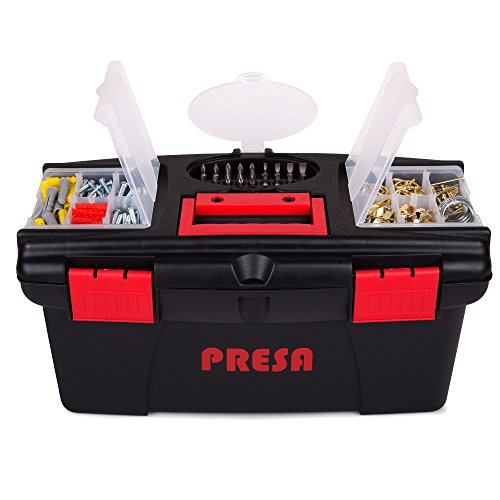Presa Homeowner's Tool Kit Set, 150 Pieces of Essential Tools and Hardware You Need by Presa (Image #2)