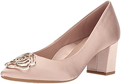 Taryn Rose Women's MACI Crystal Satin Pump