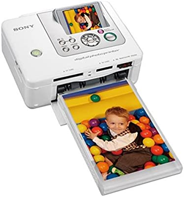 Sony Digital Photo Printer, White Impresora de Foto Pintar por ...