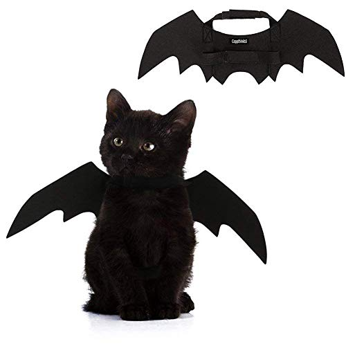 Halloween Pet Bat Wings Cat Dog Bat Costume]()