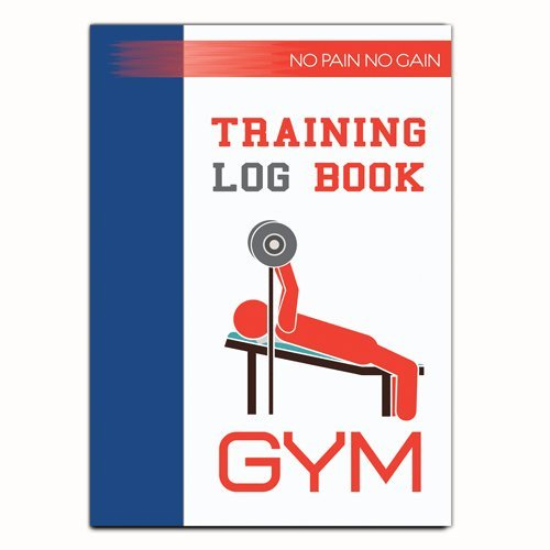 A5 Weight Training Diary Log Book, Gym Diary, A5 Daily Workout Diary - 03 Bound2BePerfect